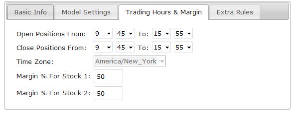 Pair trading strategy algorithm